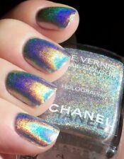 CHANEL Nail Varnish Duo Platinum Holographic Rare Nail Varnish NEW MINT NO BOX