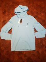 Mens-Ralph Lauren Polo Size-XS Long Sleeve T Shirt Hoodie Orig-$55 NWT