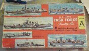 VINTAGE [1962] Renwal TASK FORCE A 1/1200  PARTS SEALED