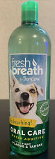 TropiClean Fresh Breath Oral Care Water Additive for Dogs 33.8-Ounce