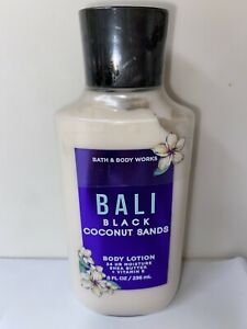 Bath and Body Works BALI BLACK COCONUT SANDS Lotion 2021 Full Size NEW