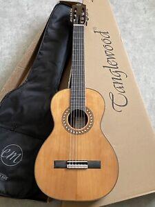 RRP £299 Solid Cedar Top Parlour size Classical Acoustic Guitar (nylon strings)
