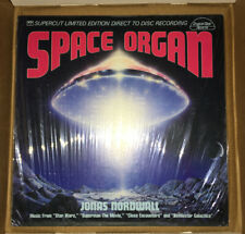 Jonas Nordwall - SPACE ORGAN — Sealed Supercut Direct Disc!!!