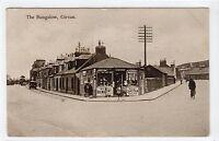 THE BUNGALOW, GIRVAN: Ayrshire postcard (C13566)