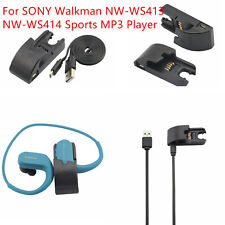 For SONY Walkman NW-WS413 NW-WS414 USB Data &Charging Cable Cradle Adaptor