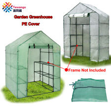 Garden Greenhouse Cover Sunroom House Shed Storage Portable Protective Plastic