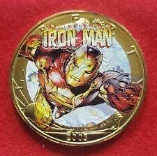2003 Marvel Ironman - American Silver Eagle 1oz .999 Silver Gilt Coin - RARE!