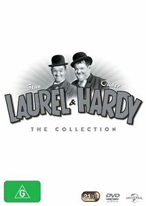 Laurel and Hardy The Collection Box Set DVD Region 4 NEW