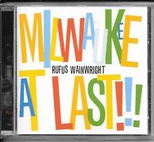 CD Rufus Wainwright `Milwaukee at Last` Neu Gay Messiah