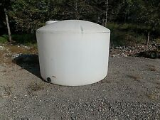 1550 Gallon Poly Water Storage vertical tank/container, chemical storage