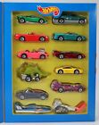 Hot Wheels 1995 Year in Review 12 Car Set Hills Exclusive #14065 New NRFB 1:64