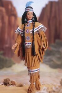 Native American Barbie Doll Dolls of the World 18558 1997 Mattel 4th Edition