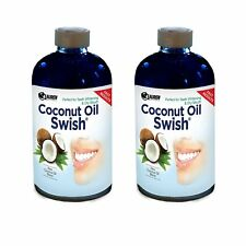 Oil Pulling and Mouthwash: Great Dry Mouth remedy, & Oral Detox - 16oz