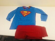 DC COMICS SUPERMAN FULL LENGHT PIJIMAS AGE 6-7 YEARS