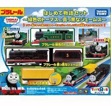 Takara Tomy Plarail Green Thomas & Black James The First Story set Toy JAPAN