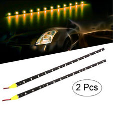 2Pc 30cm LED Strip light 5050 light Tape String T9 SMD Waterproof DC12V Running
