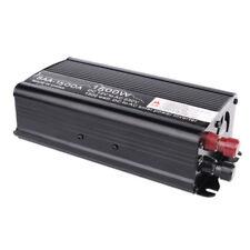 Inversor energía auto Coche 1500W 12V a 220V corriente USB Cargador convertidor