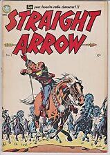 Straight Arrow Comics #1 F-