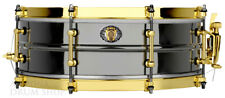 LUDWIG 5x14, 110th Anniversary LB406XXCX 8 lug Black Beauty Snare Drum w Bag