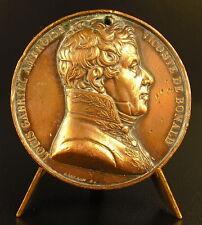 Médaille à Louis-Gabriel-Ambroise vicomte de Bonald monarchiste catholique medal