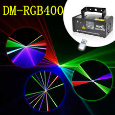 SUNY DMX Control 400mW RGB Professional Laser Beam Scan DJ Club Stage Lighting