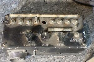Vintage C/69 A/AIA-2A Aircraft Military ? RADIO TRANSMITTER untested Aviation