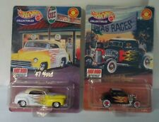 Hot Wheels Collectibles - Lot of 2 - '47 Ford and '32 Ford Coupe