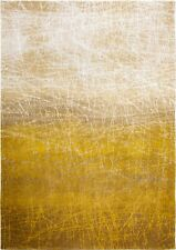 Abstract Mad Men FAHRENHEIT NEW YORK FALL 8879 Yellow Louis de Poortere Deco Rug