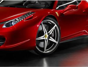"""Genuine Ferrari 20"""" Forged Alloy wheels - 818644"""