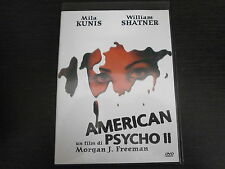 AMERICAN PSYCHO II - FILM IN DVD ORIGINALE - visita negozio COMPRO FUMETTI SHOP