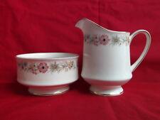 Royal Albert (Paragon) Belinda, Milk Jug & Sugar Bowl (from the Teaset)
