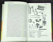 Buch - Uhrenreparatur alte mechanische Uhr Uhrmacherwerkzeug Hemmung Uhrwerk