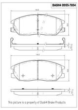 Disc Brake Pad Set-w/o ABS Front Dash 4 Brake CD955