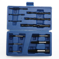 12Pcs Damaged Broken Screw Extractor Stud Puller Bolt Remover Easy Out Drill Set