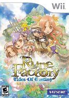 Rune Factory: Tides of Destiny [Nintendo Wii, RPG, Simulation, Explore, Natsume]