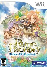 Rune Factory: Tides of Destiny [Nintendo Wii, RPG, Simulation, Explore, Natsume]