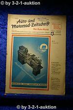 Auto und Motorrad Zeitschrift Nr. 5/51  1.2.1951 Der Auto Markt