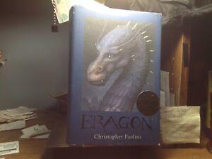 "CHRISTOPHER PAOLINI ""ERAGON"" FIRST EDITION HDJ 2003 ""INHERITANCE-BOOK ONE"" KNOPF"