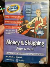 Easy 2 Learn Money & Shopping - Ages 6 to 12 - PC GAME - FREE POST *