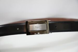 #257 Salvatore Ferragamo  Reversible  Belt Size 30-33 Retail $360