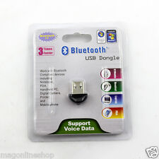 Bluetooth 2.0 USB Dongle Adapter for PC/Laptop, Bluetooth Transmitter and Receiv