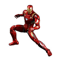 6'' Iron Man Mark 46 Action Figure Avengers Captain 3 Civil War PVC Toy