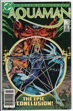 DC Comics Aquaman #4/4 Mini series 1986 VF 75 cent cover. Movie coming!