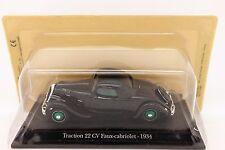 1:43 NOREV/UH & ATLAS - CITROËN Traction 22 CV Faux-cabriolet, 1934