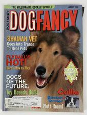 Dog Fancy Magazine 1999 January Collie-Boston Terrier-Plott Hound-Toy Breeds