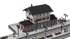 PDF-Anleitung Bahnhof Steinheim / Train-station creator MOC für LEGO©-Steine