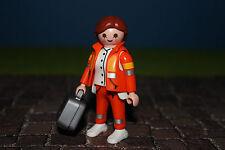 Playmobil Figuras Médico de Emergencia Serie 4