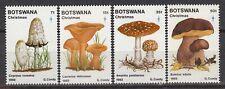 BOTSWANA – 469-72 **  Christmas 1982 – mushrooms - champignons