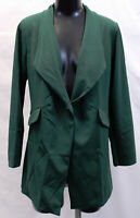 Nasty Gal Women's New Collection Act Professional Blazer SV3 Green Small
