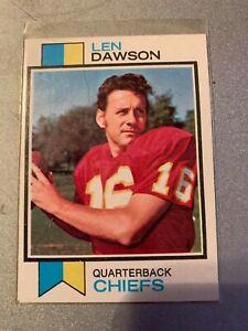 1973 TOPPS #335 LEN DAWSON CHIEFS EXMINT D023518